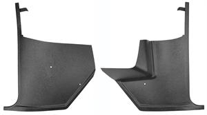 KICK PANELS, 65-66 CHEVELLE/EL CAMINO WITHOUT AIR CONDITIONING-PAIR