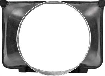 FAN SHROUD, 67-72 TRUCK 4WD SMALL BLOCK - FIBERGLASS