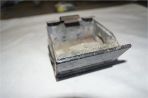 ASH TRAY, 64-65 PONTIAC GTO WITHOUT CHROME TRIM, WITHOUT BRACKET - USED - WILL FIT TEMPEST AND LEMANS ALSO