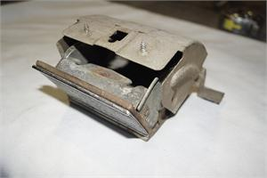 ASH TRAY, 64-65 PONTIAC GTO WITH CHROME TRIM, WITH BRACKET - USED - WILL FIT TEMPEST AND LEMANS ALSO