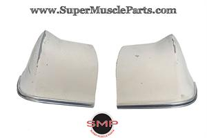 QUARTER PANEL EXTENSION, 1966 IMPALA WITH MOLDING USED - PAIR