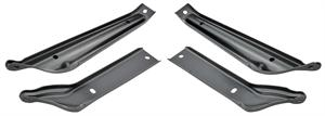 BRACKET, 65 CHEVELLE AND EL CAMINO FRONT BUMPER - SET