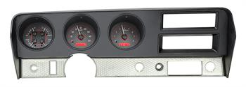 GAUGES, 70-72 GTO DAKOTA DIGITAL VHX (DOES NOT INCLUDE BEZEL)