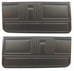 DOOR PANELS, 67 CAMARO STANDARD UNASSEMBLED - PAIR