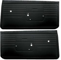 DOOR PANELS, 68 CAMARO STANDARD UNASSEMBLED - Pair