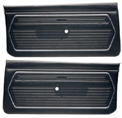 DOOR PANELS, 69 CAMARO STANDARD UNASSEMBLED - PAIR