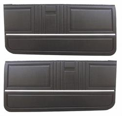 DOOR PANELS, 67 CAMARO  STANDARD PREASSEMBLED - PR
