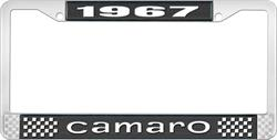 FRAME, 67-89 CAMARO LICENSE - EACH