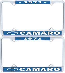 FRAMES, 71-89 CAMARO LICENSE - PR