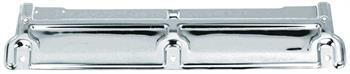 TOP PLATE, 70-81 CAMARO CHROME RADIATOR SUPPORT NO AC
