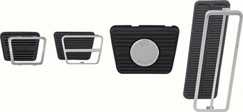 PEDAL PAD KIT, 67-68 CAMARO MANUAL TRANSMISSION - DISC BRAKES