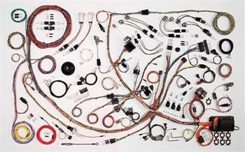 HARNESS KIT, 71-73 FORD MUSTANG AMERICAN AUTOWIRE CLASSIC UPDATE