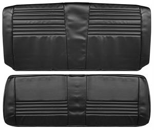 SEAT COVERS,  67 CHEVELLE REAR