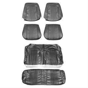 SEAT COVERS,  71-72 CHEVELLE FRONT & REAR