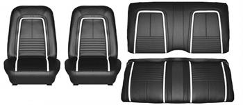 SEAT COVER, 67 CAMARO DELUXE FRONT & REAR
