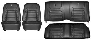 SEAT COVER, 68 CAMARO DELUXE FRONT & REAR