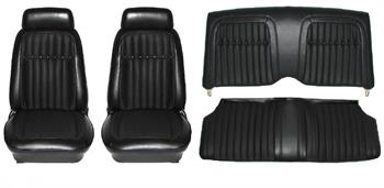 SEAT COVER, 69 CAMARO DELUXE FRONT & REAR