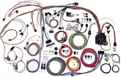 HARNESS KITS, 70-72 CHEVELLE EL CAMINO AMERICAN AUTOWIRE CLASSIC UPDATE