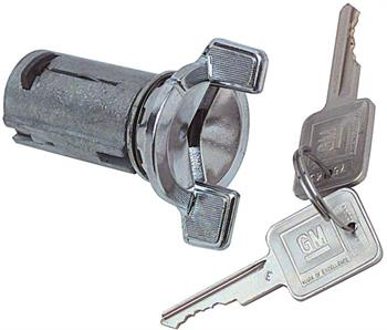 LOCK, 69-78 CAMARO/CHEVELLE/EL CAMINO/70-72 MONTE CARLO IGNITION CYLINDER AND KEY