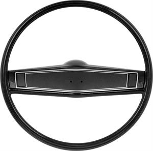 STEERING WHEEL, 69 CAMARO/69-70 CHEVELLE/EL CAMINO/69-70 NOVA BLACK KIT