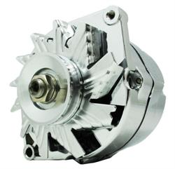 ALTERNATOR, CHROME GM 10SI TYPE