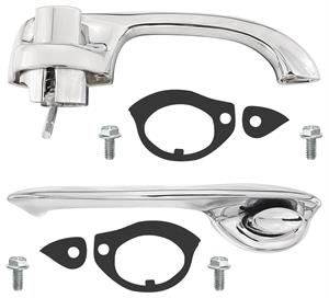 HANDLES, 70-72 CHEVELLE DOOR KIT-QUALITY