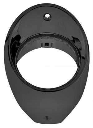 BEZEL, 66-67 CHEVELLE AND EL CAMINO  LH AIR VENT-BLACK