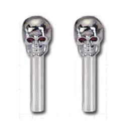 KNOBS, SKULL DOOR LOCK-PAIR