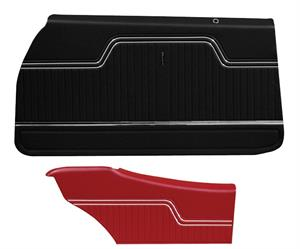 PANELS, 70-72 CHEVELLE FRONT AND REAR PREASSEMBLED