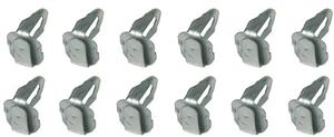 CLIPS, DOOR PANEL (12 PC)