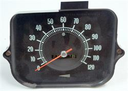 SPEEDOMETER, 68 CHEVELLE 120 MPH - USED