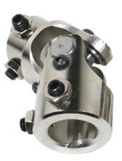 U-JOINT, STEERING 13/16 X 3/4 DD - CHROME