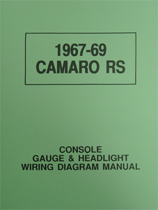 67-69 RS CONSOLE/HEADLIGHT WIRE DIAGRAM