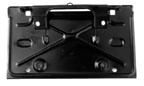 BRACKET, 68-72 CHEVELLE REAR LICENSE  - REPRO