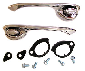 HANDLES, 64-65 CHEVELLE DOOR KIT-PR FRONT