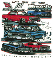 TSHIRT, SS PURE MUSCLE/SS STREET LETHAL