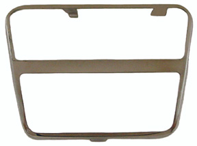 PLATE, 64-72 CHEVELLE AND EL CAMINO 4 SPEED BRAKE OR CLUTCH PAD TRIM