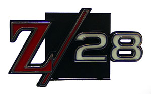 EMBLEM, 69 CAMARO Z28 GRILL -  BUDGET REPRODUCTION