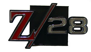 EMBLEM, 69 CAMARO Z28 GRILL - QUALITY REPRODUCTION