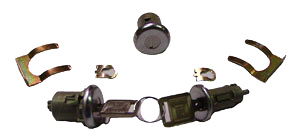 LOCK, 66-67 CHEVELLE AND EL CAMINO IGNITION AND DOOR LATER STYLE KEY