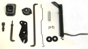 CLUTCH LINKAGE KIT, 68-74 NOVA SMALL BLOCK