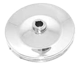 PULLEY, POWER STEERING V8-CHROME